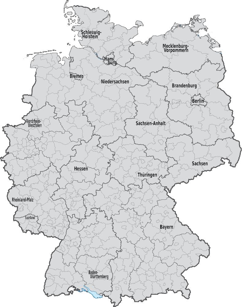 BDK Deutschland Karte Filialen Uebersicht